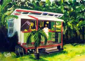 Fruit Stand North Shore Oahu Hawaii #163
