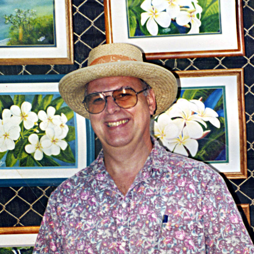 Famous Hawaii Artist Donald K. Hall Hawaii Painter