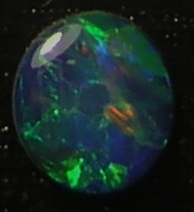 Lightning Ridge Austalian opal Doublet 9mm round for sale lot:11